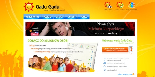 Nowa strona Gadu-Gadu.pl