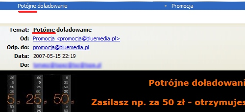 Potr�jne Do?adowanie Orange