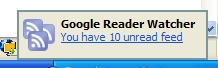 Google Reader Watcher