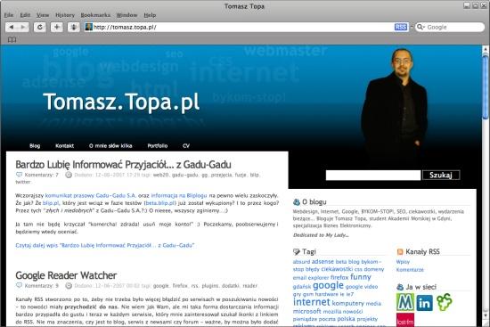 Tomasz Topa @ Safari