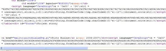 JavaScript @ Adamowicz.pl