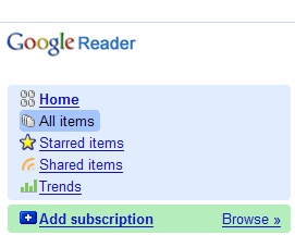 Google Reader out of Beta!