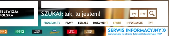 Szukaj w TVP.pl