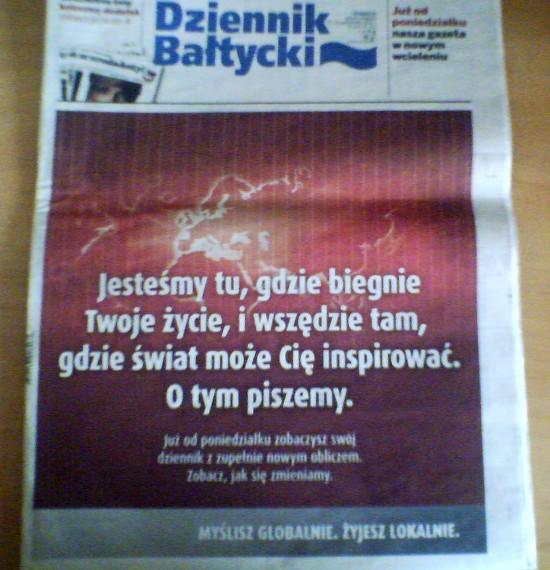 Dziennik Bałtycki - Polska - The Times - wydanie weekendowe