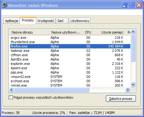 Firefox 3 beta 1 memory leak