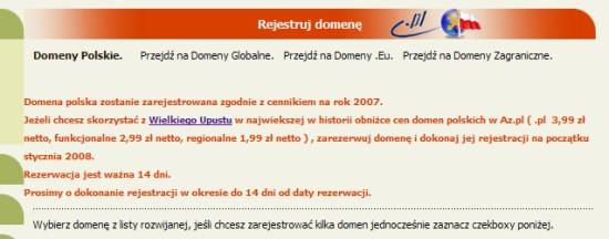 Az.pl - promocja panel