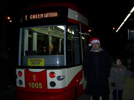 Przy Bombardierze na nowej p?tli tramwajowej na gda?skim Che?mie