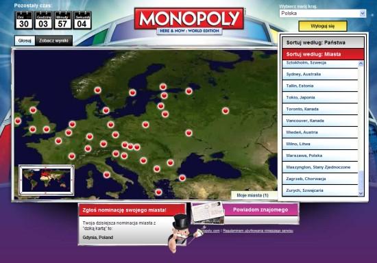 Monopoly - plansza