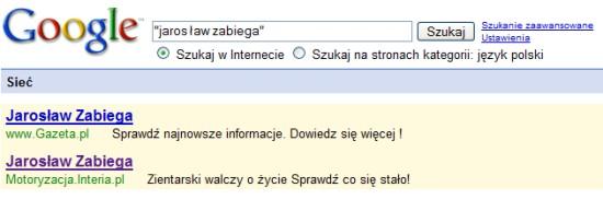 Wypadek w Google AdWords