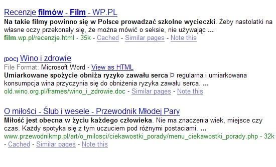 Bliziutko.pl - ukradzione teksty