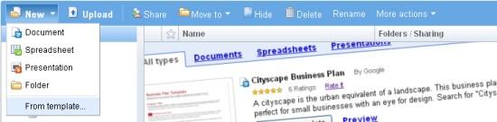Google Docs introduces templates