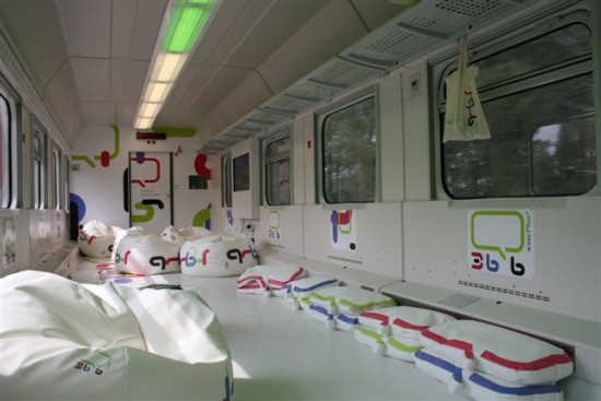 Wnętrze wagonu SpokoLoko 36.6