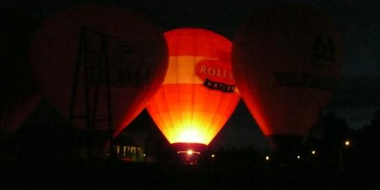 Hynek Cup 2008 - pokaz balonów