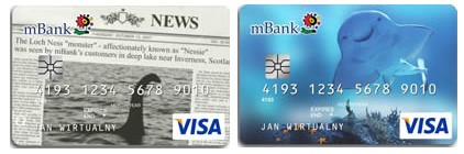 mBank: karty debetowe visa classic eMAX walutowy