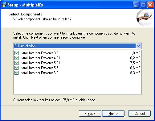 Multiple IEs