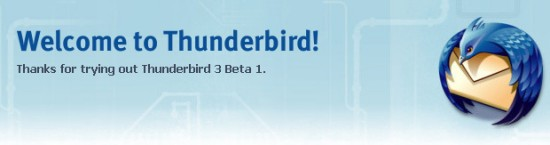 Thunderbird 3 Beta 1