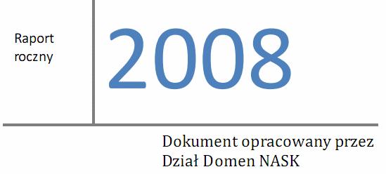 Raport NASK 2008