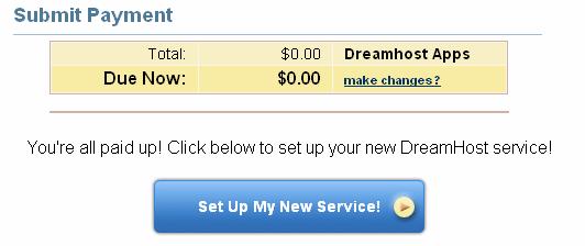 DreamHost App