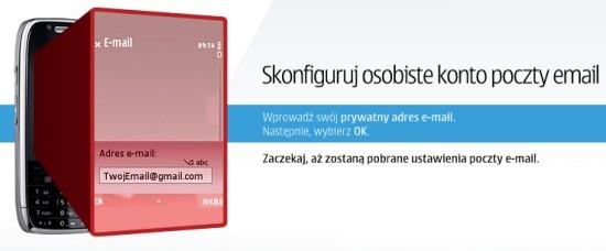 Konfiguracja poczty w telefonie Nokia