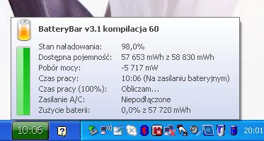 Samsung N140 BatteryBar