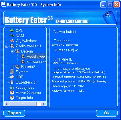Samsung N140 Battery Eater 2.7 Pro
