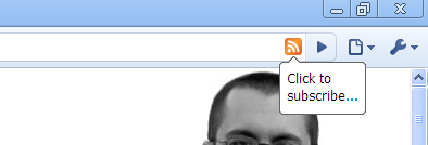 Google Chrome RSS Feed discovery plugin