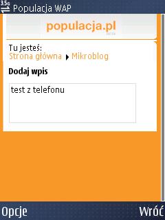 Mobilna wersja Populacja.pl