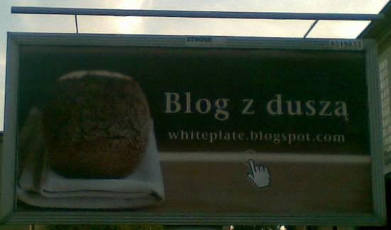 Blog z duszą na billboardzie