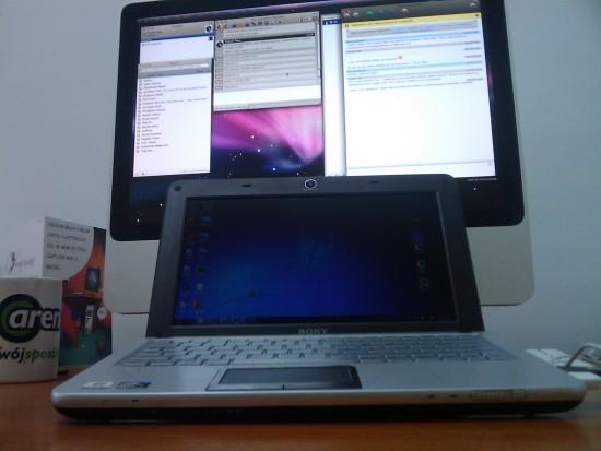 Sony Vaio i iMac