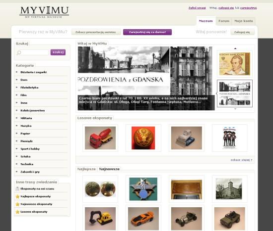 MyViMu.com - Moje Wirtualne Muzeum