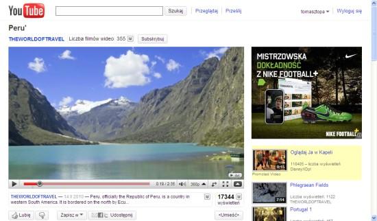YouTube HTML5 new design