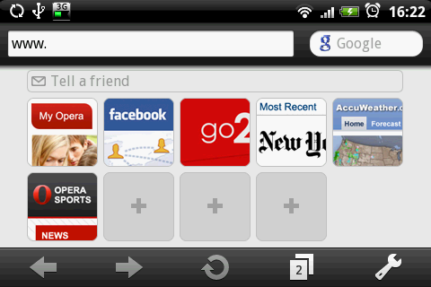 Opera Mini 5 beta g?�wna