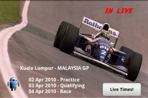 F1Android.com Live Timing