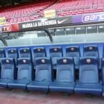 Ławki rezerwowych Camp Nou