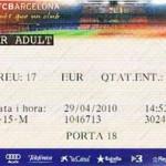 Bilet na zwiedzanie Camp Nou