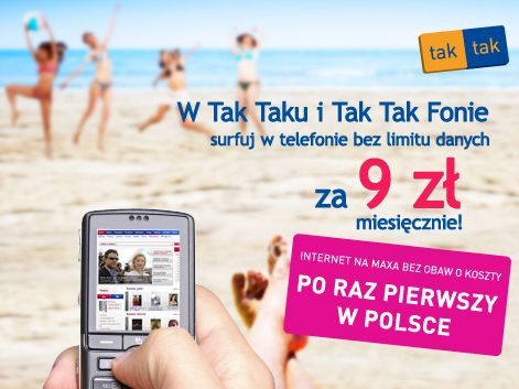 Era TAK TAK internet w telefonie bez limit�w