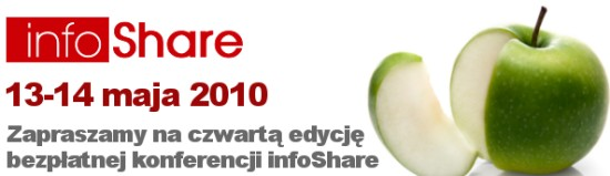 Konferencja infoShare 2010 Gdańsk