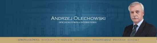 WWW Andrzeja Olechowskiego