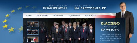 WWW Bronislawa Komorowskiego