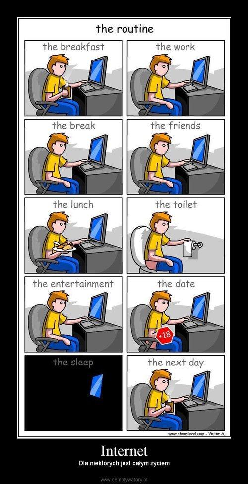 Całe życie przed komputerem