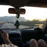 Seicento na autostradzie