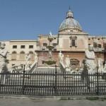 Palermo - Fontanna i Piazza Pretoria