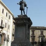 Palermo - pomnik na Piazza Bologni