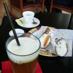 Cannoli i mrożona herbata