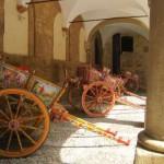 Palermo - Palazzo dei Normanni - powozy #2