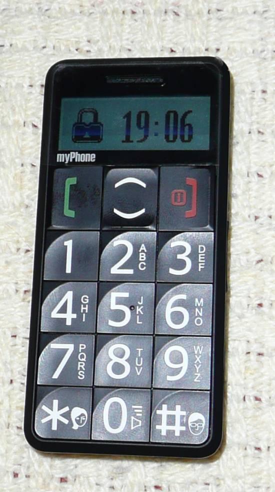 myPhone 1050 z zablokowan? klawiatur?