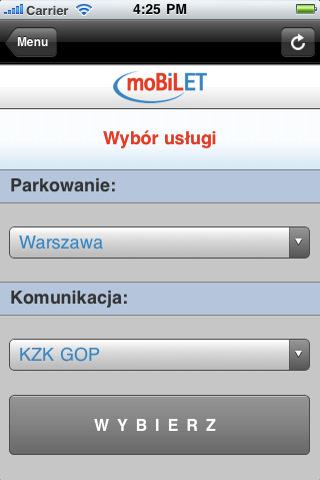 moBILET w akcji - iOS