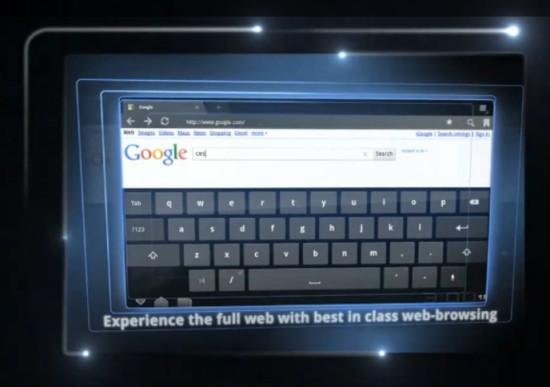 Android 3.0 Honeycomb Przegl?darka