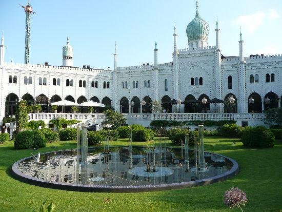 Ogrody Tivoli, Kopenhaga