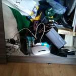 Schowany w szafie